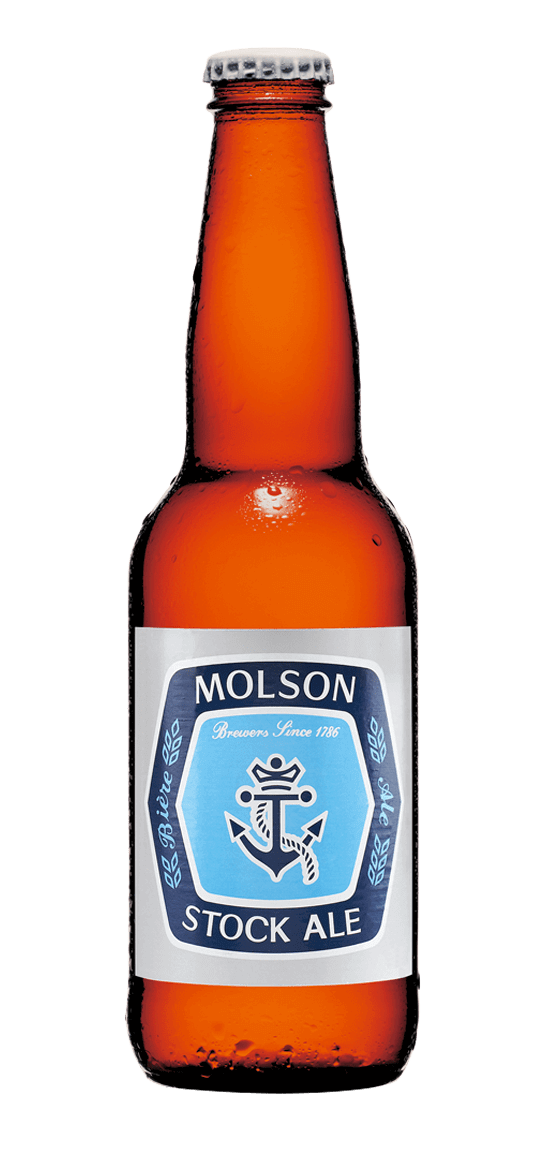 molson stock ale bottle