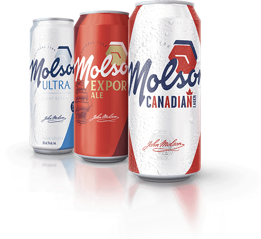 Molson Canadian Cans